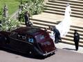 Meghan Markle Tumpangi Rolls-Royce Phantom IV ke Gereja