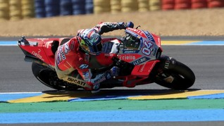 Dovizioso Sulit Lupakan Blunder di MotoGP Prancis