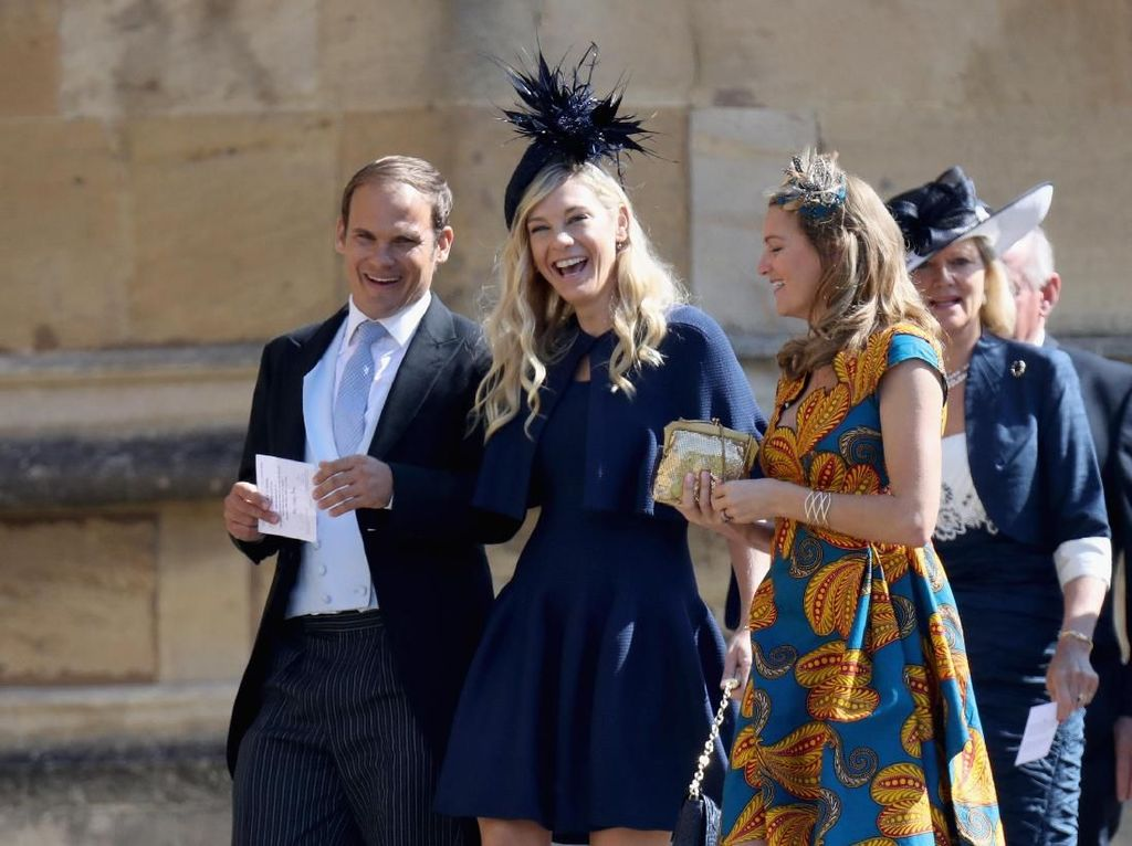 Foto: Adu Gaya Para Mantan Pangeran Harry Saat Royal Wedding