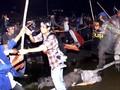FOTO: Panas Gelombang Reformasi 20 Tahun Lalu