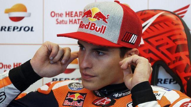 Marquez Bicara Ancaman Fan Rossi di MotoGP Italia