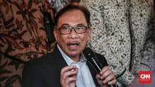 Ke PBNU, Anwar Ibrahim Kecam Teror Bom di Indonesia