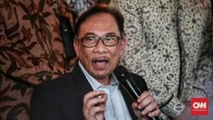 Ke Malaysia, Prabowo Temui Anwar Ibrahim
