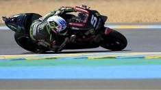 FOTO: Zarco Kalahkan Marquez di Kualifikasi MotoGP Prancis