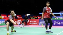 Ahsan/Hendra Menang, Indonesia vs Korea Selatan Imbang 2-2