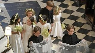 FOTO: Si Gemas 'Pencuri Perhatian' di Pernikahan Harry-Meghan
