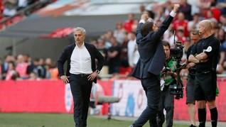 Mourinho: Chelsea Tak Pantas Juara Piala FA