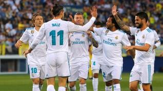 Real Madrid Diimbangi Villarreal di Laga Terakhir La Liga
