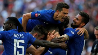 Kalahkan Man United, Chelsea Juara Piala FA