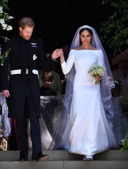 Viral, 6 Kemiripan Pernikahan Meghan Markle dengan Kisah Cinderella 1