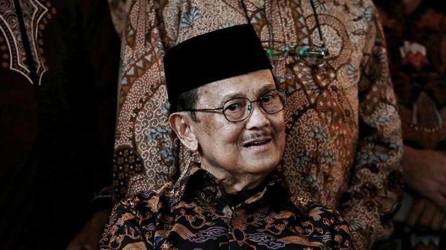 BJ Habibie Meninggal Dunia di RSPAD Jakarta