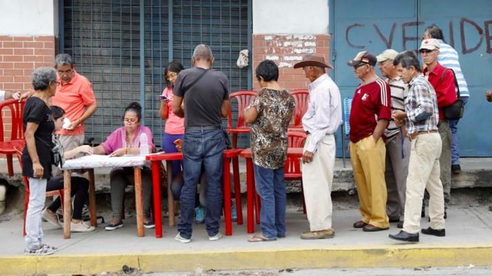 Rakyat Miskin Venezuela Antre demi