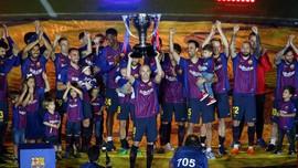 Barcelona Cetak Rekor Pendapatan Rp15 Triliun