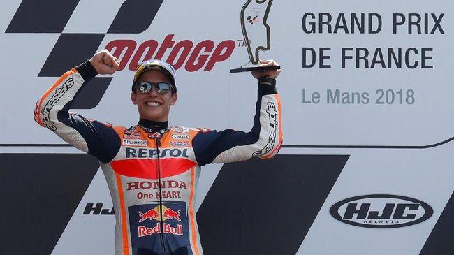Marquez Samai Catatan Stoner di MotoGP, Berburu Rekor Lorenzo