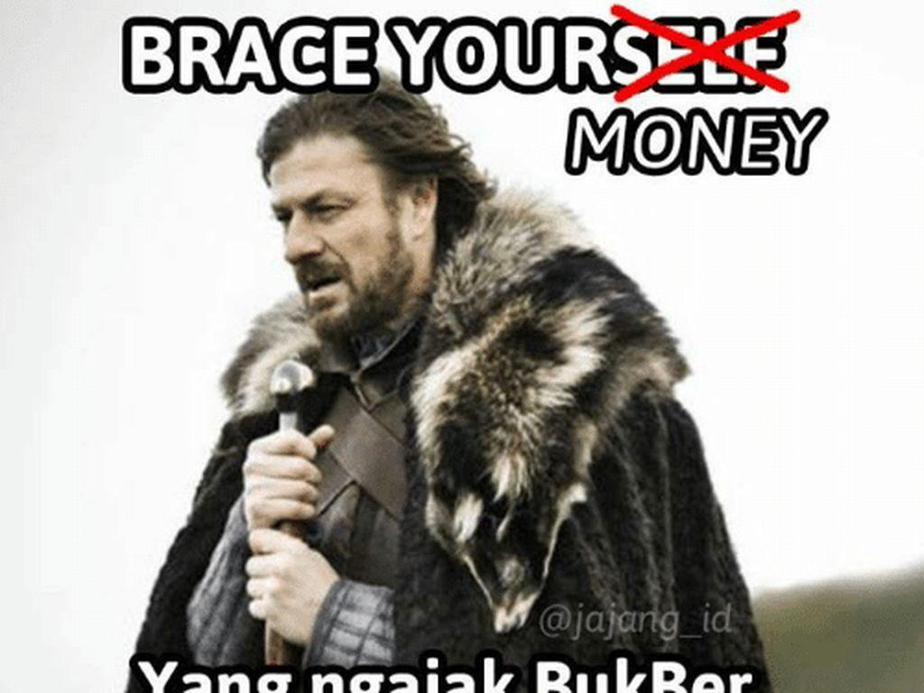 Meme Kocak Kala Bukber Bikin Dompet Cekak
