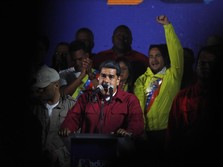 Diserang Bom Drone, Presiden Venezuela Minta Trump Bertindak