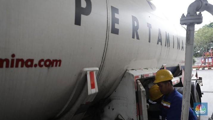 BPH Migas targetkan 5000 dari 7000 pom bensin milik Pertamina di seluruh RI bakal gunakan nozzle digital, akhir tahun ini.