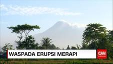 Meski Status Waspada, Gunung Merapi Terpantau Tenang