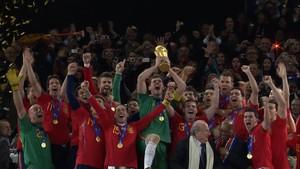 VIDEO: Timnas Spanyol Rebut Gelar Perdana di Piala Dunia 2010