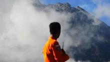FOTO: Waspada di Kaki Gunung Merapi