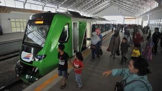 Tiket Kereta Bandara Minangkabau Hanya Rp10 Ribu