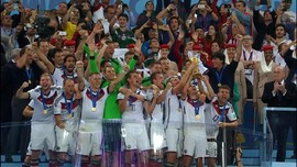 VIDEO: Jerman Matikan Harapan Messi di Piala Dunia 2014