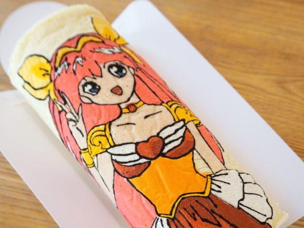 Gemas! Intip 10 Kreasi Roll Cake Bentuk Sailor Moon hingga Totoro