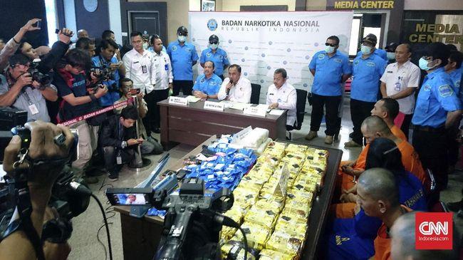 BNN Sita 37,9 Kg Sabu dan 9.900 Ekstasi di Aceh dan Pekanbaru