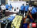 BNN Bongkar Penyembunyian 15 Ribu Butir Ekstasi asal Malaysia
