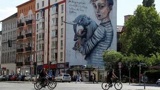FOTO: 'Berlin Mural Fest 2018' Sulap Ibu Kota Jerman