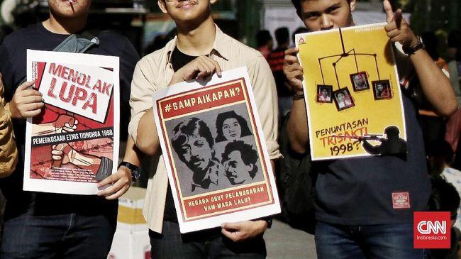KontraS: Penyelesaian HAM Berat Masa Lalu Era Jokowi Mandek