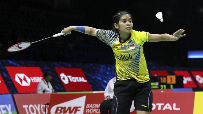 4 Wakil Indonesia Menang di Babak Pertama Kejuaraan Dunia