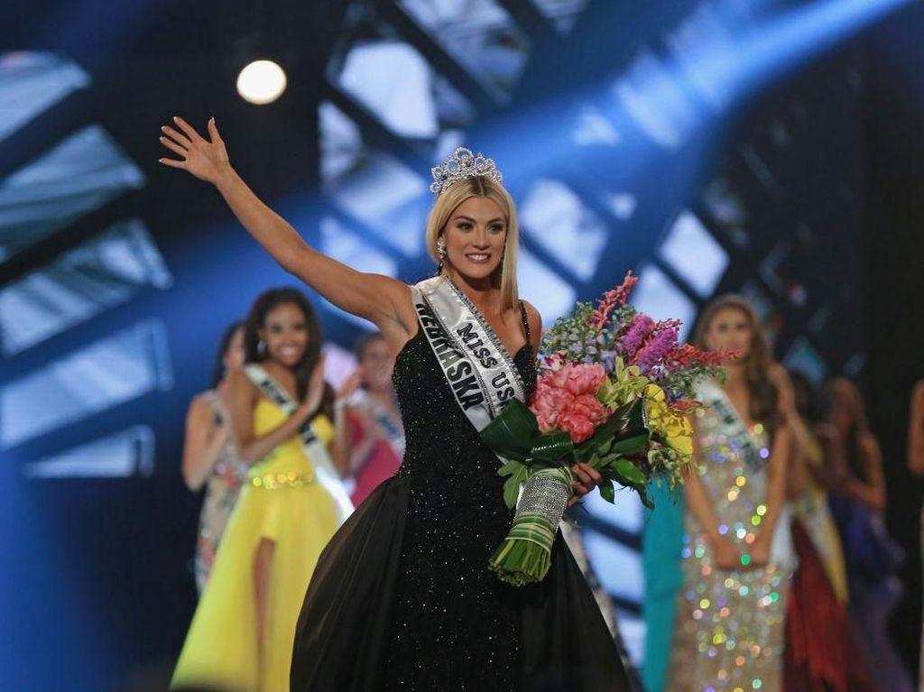 Terpikat Kecantikan Miss USA 2018, Sarjana dengan Predikat Cumlaude