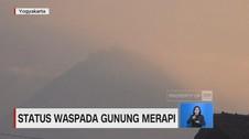 Status Waspada Gunung Merapi