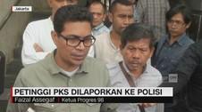 Petinggi PKS Dilaporkan ke Polisi