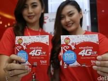 Kapitalisasi Smartfren Semakin Tinggalkan XL & Indosat