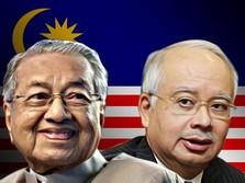 Najib Melawan, Serang Mahathir Soal Kereta Cepat Malaysia