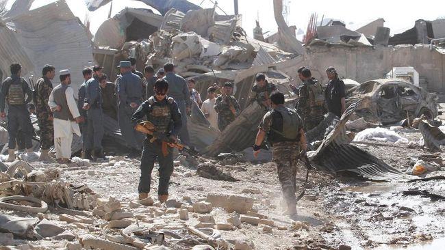 Bom Meledak Usai Presiden Afghanistan Umumkan Rencana Damai