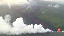 VIDEO: Warga Waspadai Awan Beracun Gunung Kilauea