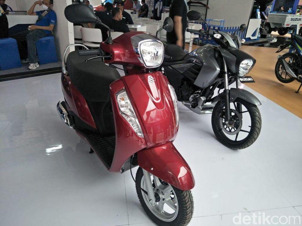 Suzuki Boyong 2 Motor Anyar, Mau Dijual?