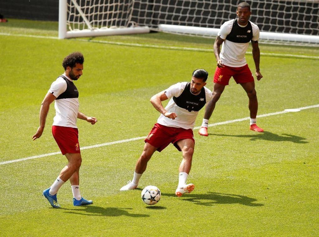 Sebelum ke Kiev, Si Merah Latihan Dulu di Anfield