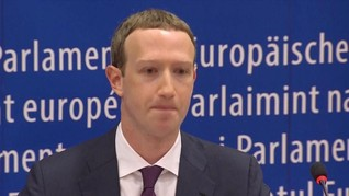 Bahas Regulasi Internet, Mark Zuckerberg Temui Trump