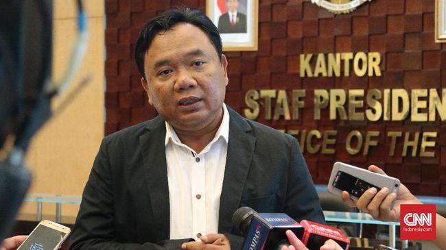 KSP Bantah Tudingan Jadi 'Sarang' Tim Sukses Jokowi