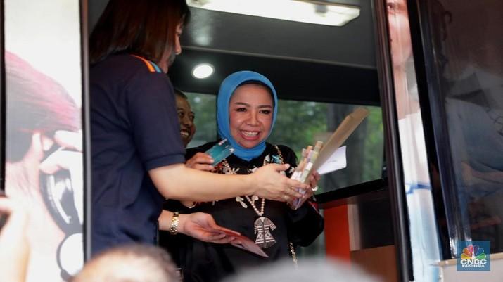 Menyambut Hari Raya Idul Fitri Bank Indonesia (BI) telah menyediakan Rp 217,1 T uang pecahan