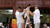 Bun Festival diselenggarakan pada hari ke-lima sampai ke-sembilan dalam bulan ke-empat dalam penanggalan China.