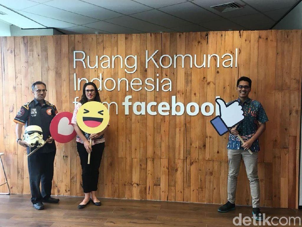 Mengintip Kenyamanan Ruang Komunal Facebook di Jakarta