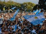 Kemenangan Messi Dkk Jadi Pelipur Lara Rakyat Argentina