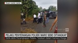 Polsek Maro Sebo Jambi Diserang, Pelaku Berhasil Ditangkap