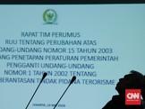 DPR-Pemerintah Bahas Usul Frasa Definisi Terorisme dalam RUU