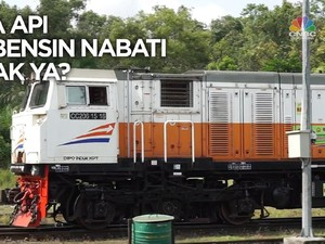 VIDEO: Kereta Pakai Bensin Nabati, Bisa Gak Ya?